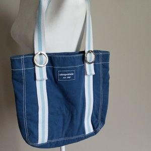 Aeropostale canvas tote bag